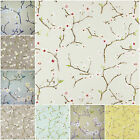 Prestigious Textiles EMI Floral Cotton 100% Curtain Fabric Roll   8 Colour
