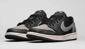 ab954224bbaa 2015 Nike Air Jordan 1 Retro Low OG Shadow Grey Black Size 13 ...