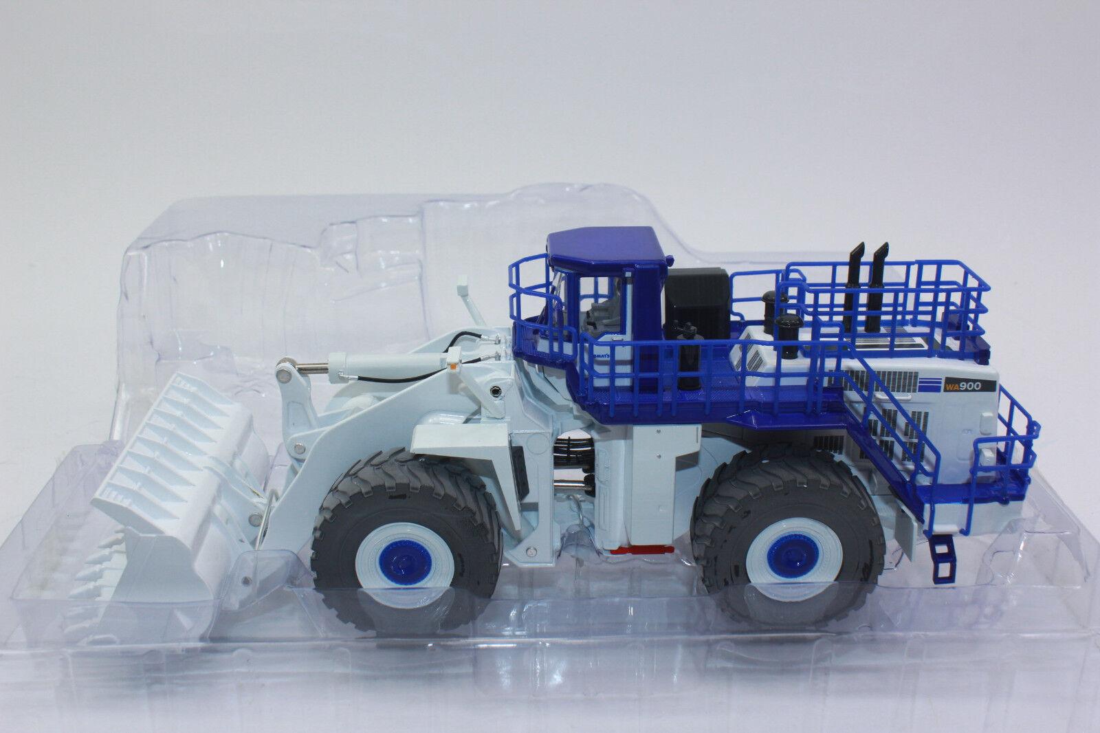 First Gear 59-3338 Radlader Komatsu 900 White 1 50 New Boxed