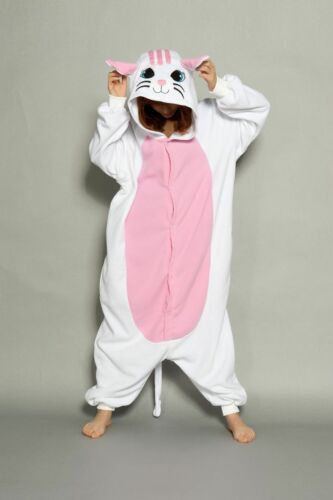 Unisex Adult Pajamas Unicorn Kigurumi Cosplay Costume Animal Sleepwear Onesi1