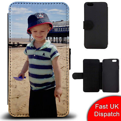check out dfc85 5ec53 Personalised Flip Phone Case Cover With YOUR Custom Photo - iPhone /  Samsung | eBay
