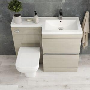 Modern-Pemberton-Gold-Bathroom-2-Draw-RH-Vanity-Sink-Unit-with-Toilet-and-Basin
