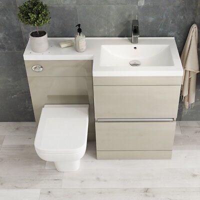 Moderne Pemberton or salle de bain 2 dessiner RH Vanity évier unité avec  Toilettes et Lavabos | eBay