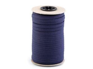 farbiges-7-mm-Waeschegummi-Gummilitze-Waescheband-Hosengummi-15-Farben