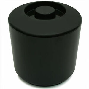 10 Litre Plastic Ice Bucket Brushed Aluminium Effect Ice Cube Bucket by Chabrias LTD