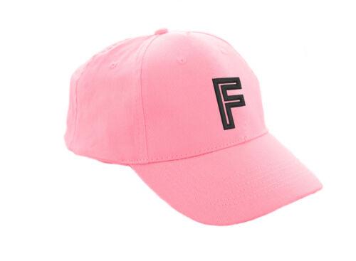 Kids Baseball Cap Boy Girl Adjustable Children Snap back Hat Sport A-Z Pink LA