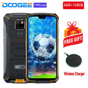 """128GB Smartphone Rugged 5.9"""" 4G Android Mobile Phone 6GB OctaCore DOOGEE S68Pro"""