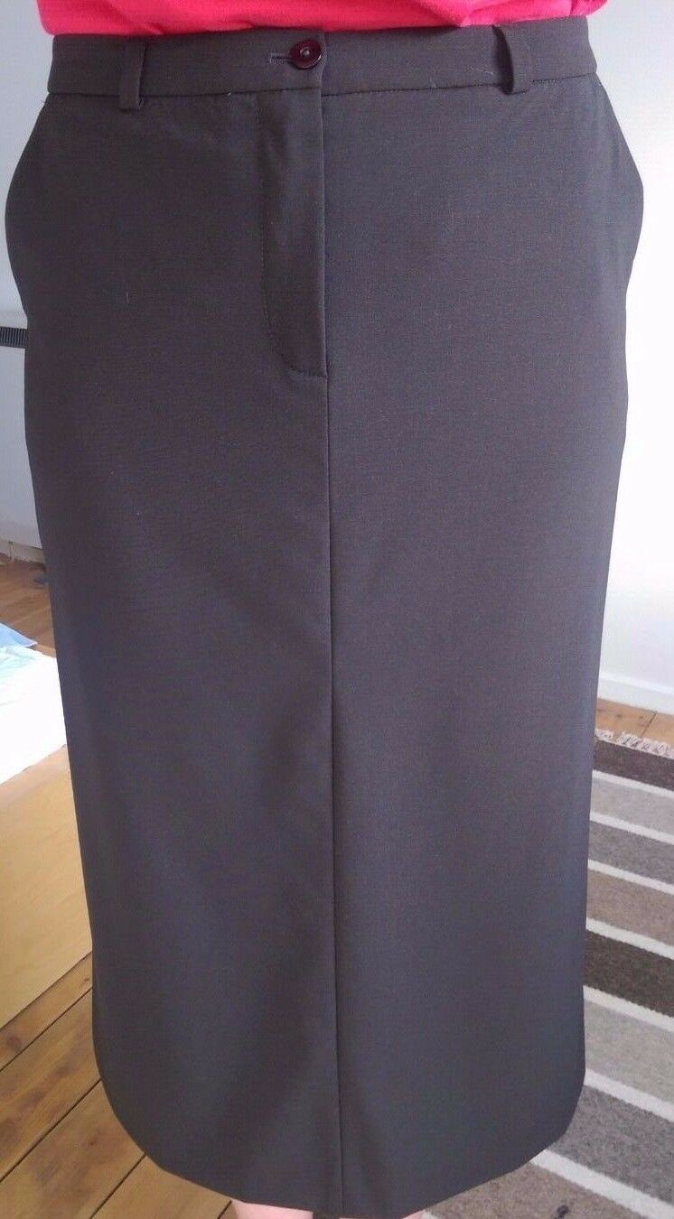 Wolford York Skirt wool  color  Brown Size  38 US 8 59311  445