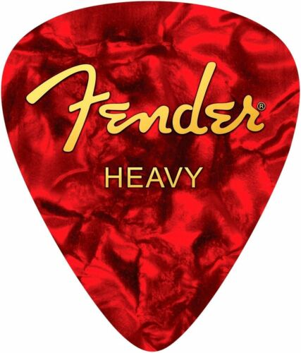 910-0570-107 Fender Heavy Pick Mouse Pad Red Guitar//Bass 9100570107