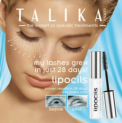Talika LIPOCILS Eyelash Conditioning Gel - Rapid Lash Growth Serum 4.2ml / 10ml