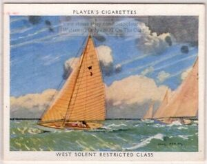 034-Squirrel-034-West-Solent-Restricted-Class-Racing-Yacht-Sailboat-1930s-Trade-Card