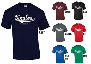 SINALOA-MEXICO-T-Shirt-Funny-Cartel-Chapo-Tee