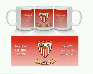 tazze-CERAMICA-PERSONALIZZATA-MUG-Sevillista-Siviglia-Calcio-Club-Custom-tazze