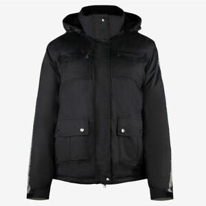 a31af641864 Details about Horze Winter Rider Jacket with Reflective Strips and  Detachable Hood