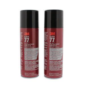 Pack Of 3-3m Multipurpose Adhesive Business & Industrial Liquid Glues & Cements Super 77