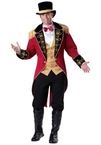 Mens Elite Ringmaster Costume