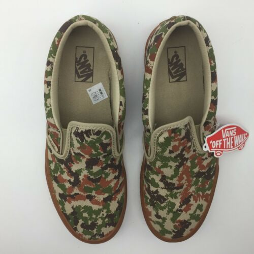 Vans Hombre Camuflaje Cordones Safari Sin dibujo clásico mujer Zapatos rrwfnz6qd