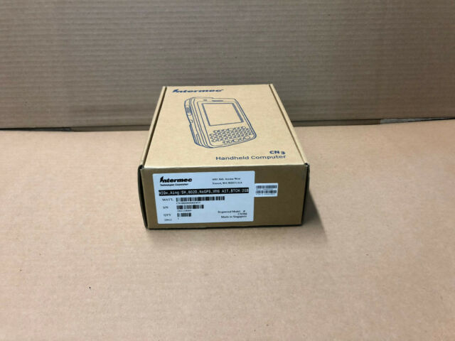 New Intermec CN3NI Handheld Computer CN3BSH80000Z4G5 With Power Supply And Dock