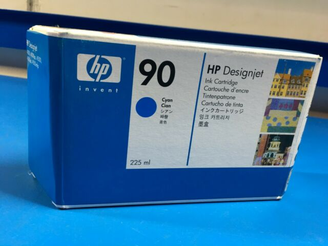 HP 90 Designjet 4000 Cyan Ink Cartridge C5060A