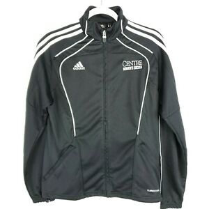 College 884891971287 Chaqueta Negro Talla Logo Center Cremallera S para Soccer mujer Adidas Climacool xTwOq0T7R