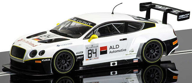 Scalextric Bentley Continental GT3 No84 Brand New Boxed C3714
