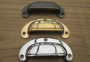 Utile Tasse Shell Victorian Old Style Vintage Tiroir Placard Armoire Porte Pull Poignées-afficher Le Titre D'origine Gagner Une Grande Admiration