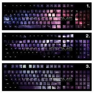 Pc Keyboard Vinyl Decal Stickers For Mechanical Keyboard