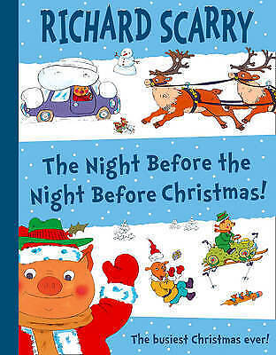 Scarry, Richard, The Night Before The Night Before Christmas, Very Good Book
