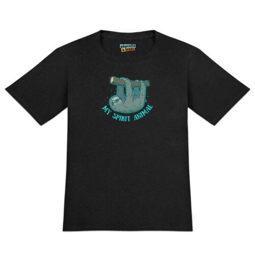 My Spirit Animal is a Sloth Men/'s Novelty T-Shirt