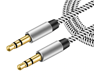 1M-3-5mm-Jack-Plug-Aux-Cable-Audio-Lead-For-to-Headphone-MP3-iPod-PC-Car-GOLD