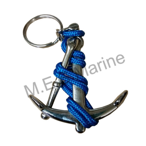 Perfect Gift Present Nautical Keyring Boating Anchor and Dolphin Design
