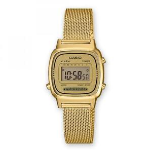 80d79fb9243e La imagen se está cargando Reloj-De-Mujer-CASIO-Vintage-LA670WEMY-9D-Acero-