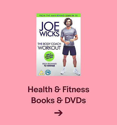 Health & Fitness books & DVDs