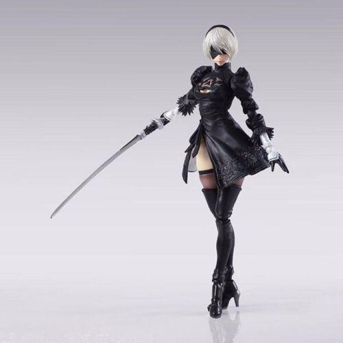 Anime NieR:Automata 2b  Authentic Bring Arts PVC ACTION Figure Toy Gift 14CM