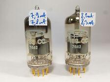 one pair E188CC RTC, same delta code, made in Holland similar E88CC golden pin