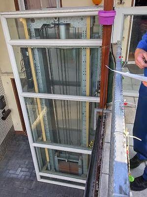 Baugewerbe Original Fahrstuhl Hauslift Rollstuhllift HebebÜhne Plattformlift Treppenlift Aufzug Hilfsmittel