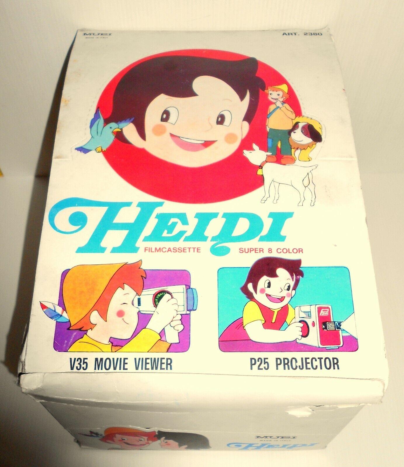 Heidi mupi box espositore cassette da negoziante cinevisor viewer projector