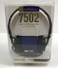New Sony MDR-7502 Headband Headphones - Black