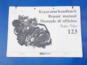 1989 APRILIA ROTAX MOTOR ENGINE TYPE 123 REPAIR SHOP MANUAL BOOK VINTAGE