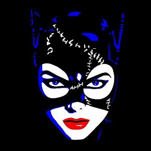 Image Is Loading Michelle Pfeiffer Catwoman T Shirt High Quality