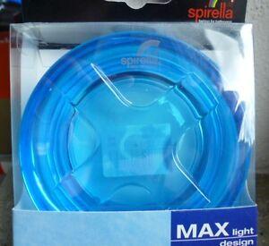 Spirella-Max-light-design-Seifenschale-10-5-cm-Durchmesser-Acryl-OVP
