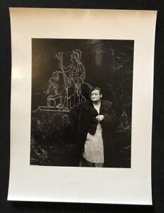 Lutz-dille-Britannia-1961-Londra-fotografia-1988-firmato-a-mano