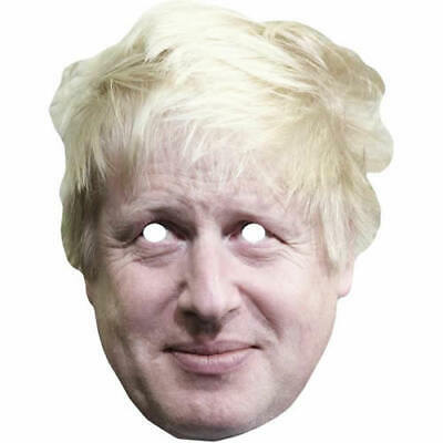 Stanley Johnson Celebrity Politician Card Mask All Our Masks Are Pre-Cut!