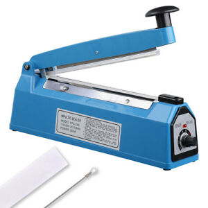 8-034-Heat-Sealing-Impulse-Manual-Sealer-Machine-Poly-Tubing-Plastic-Bag-Teflon