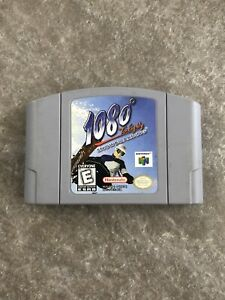 1080-Snowboarding-Nintendo-64-N64-Game-Cart-Cartridge-Authentic-TESTED