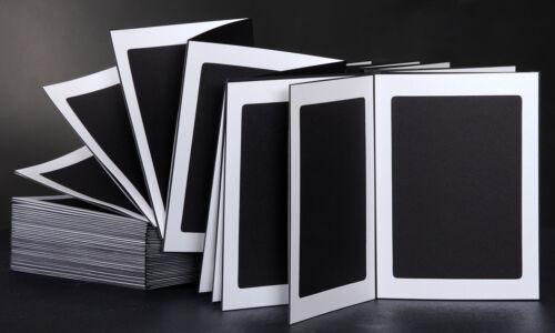 Leporellos 13x18 negro//blanco-metalizado 20 páginas