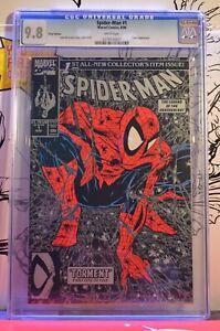 Spider-Man-1-CGC-9-8-Silver-Variant-Classic-Todd-McFarlane