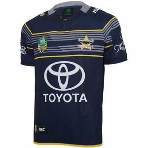 3deb9b65 Details about North Queensland Cowboys NRL Home Jersey Adults, Ladies, Kids  Toddler Sizes