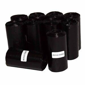 1035 DOG WASTE POOP BAGS 45 REFILL NO-CORE BIODEGRADABLE ROLLS Dispenser PURPLE