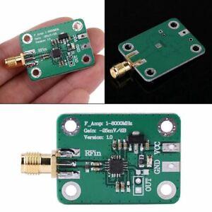 1-8000Mhz-Ad8318-Rf-Detector-Logaritmico-70Db-Rssi-Medicion-Modulo-De-Table-J1Y3